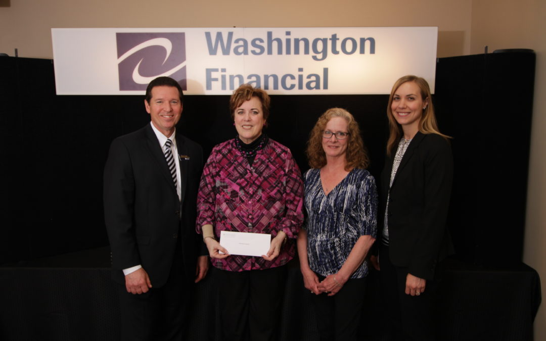 Thank you Washington Financial Bank.